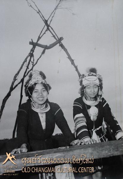 Akha hill tribe girls, Chiang Mai