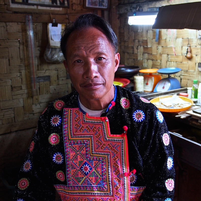 Mr.Sowme Green Trails Hmong hill tribe