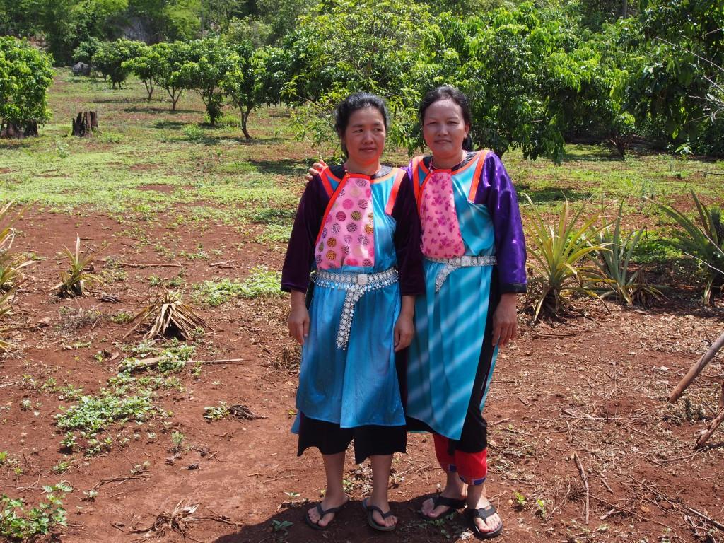 Lisu hill tribe women, Chiang Dao.