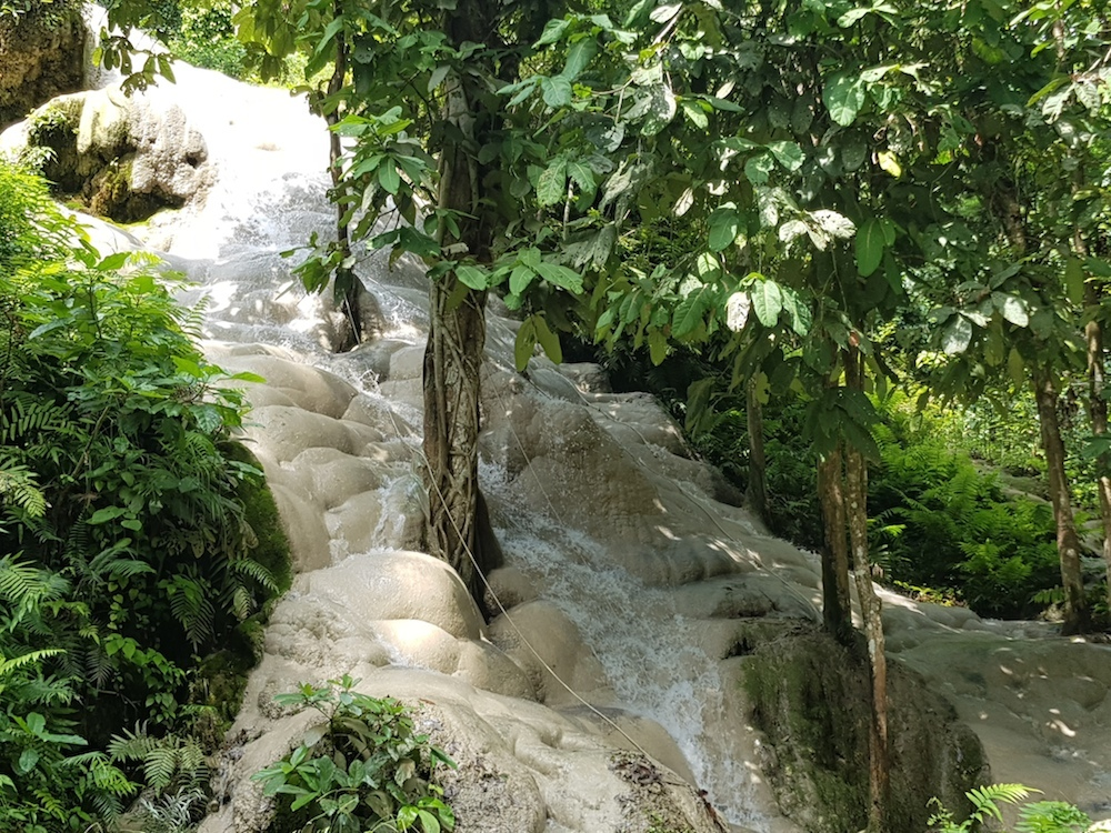 waterflow on Buatong Waterfall