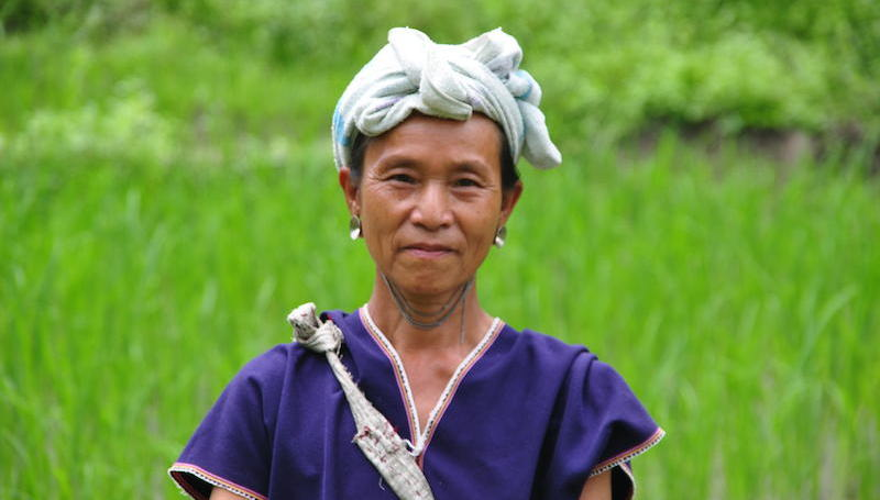 Picture of a Karen woman