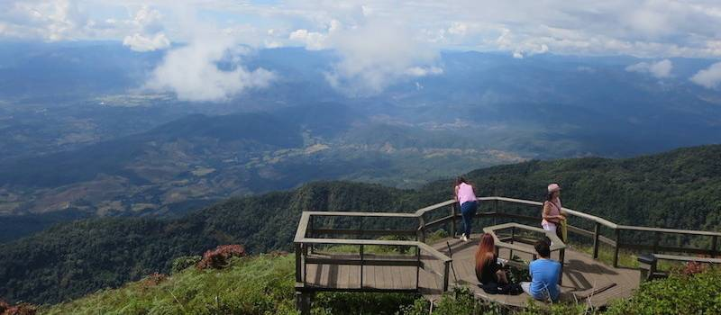 Doi Inthanon Kiw Mae Pan panorama