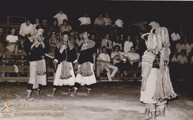 Lisu hill tribe dance at the Old Chiang Mai Cultural Center.