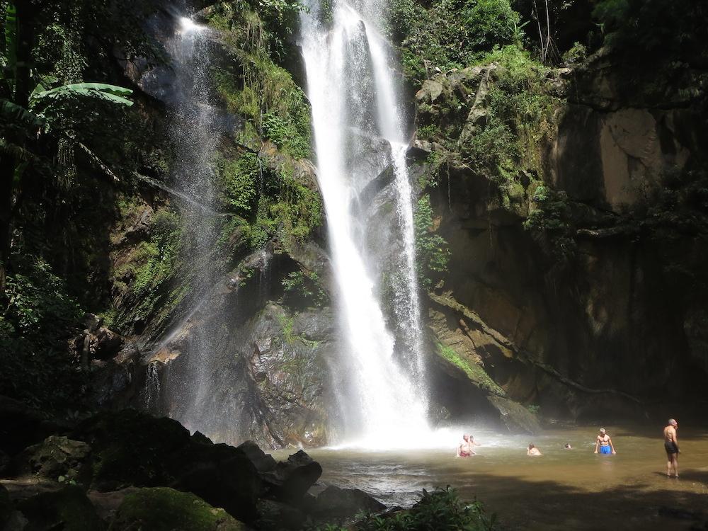 Huay Nam Dang National Park Mork Fah Waterfall Huay Nam Dang trek
