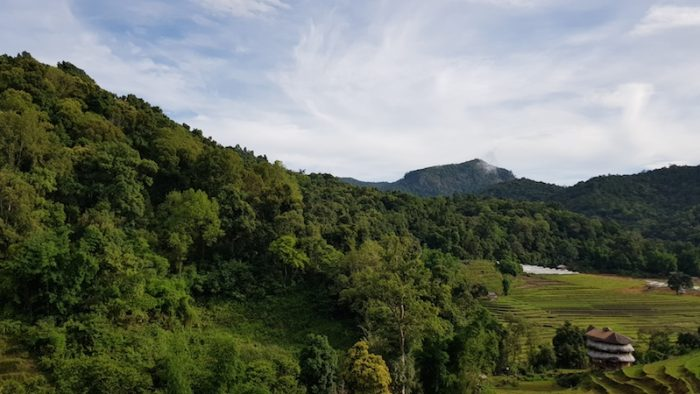 Doi Inthanon Trek National Park Pha Dok Siew Trail