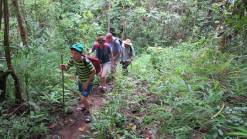Jungle family adventure trekking tour private trekking