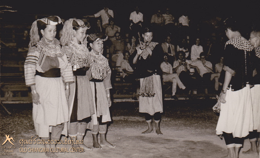 Tribal people dancing Lisu hill tribe