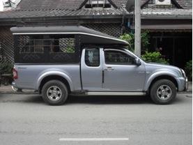 car chiang dao hilltribe trekking