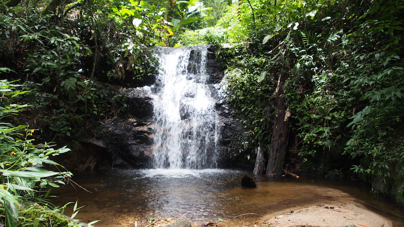 Waterfall in Chaesorn National Park