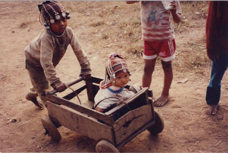 Chiang Mai Trekking Akha Children