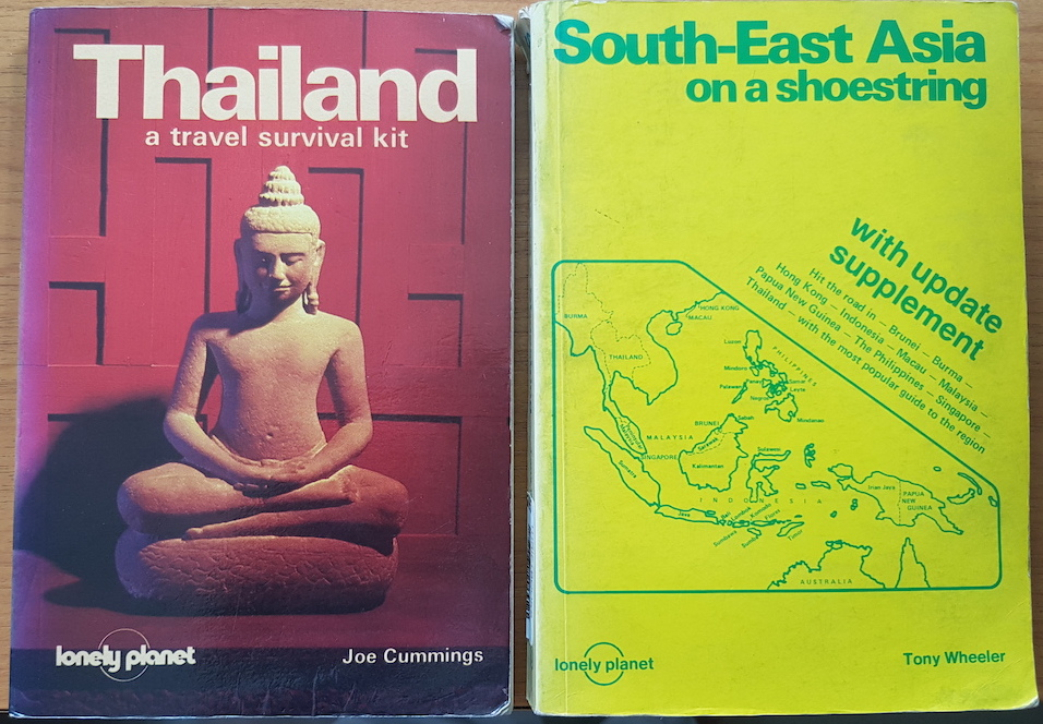 two Lonely Planet guidebooks
