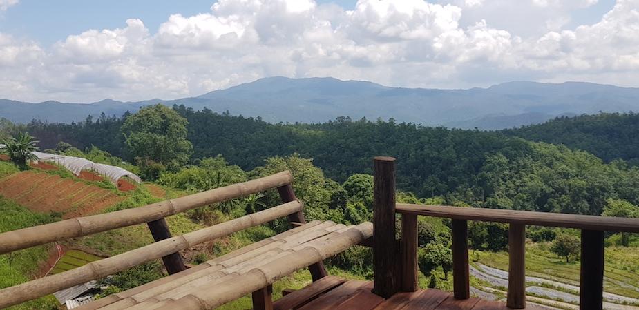 View from Karen Homestay Doi Inthanon