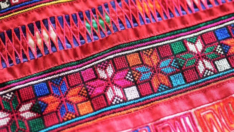 Textiles of the Akha tribe