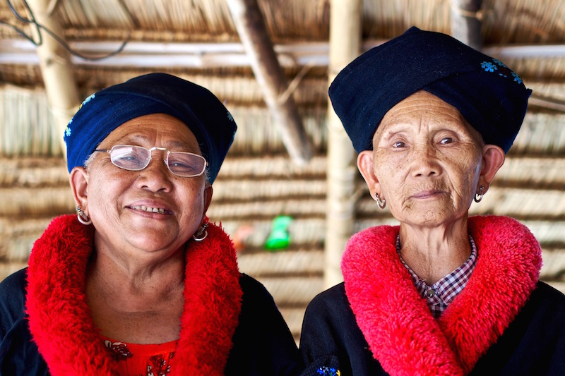 Yao women in Chiang Rai