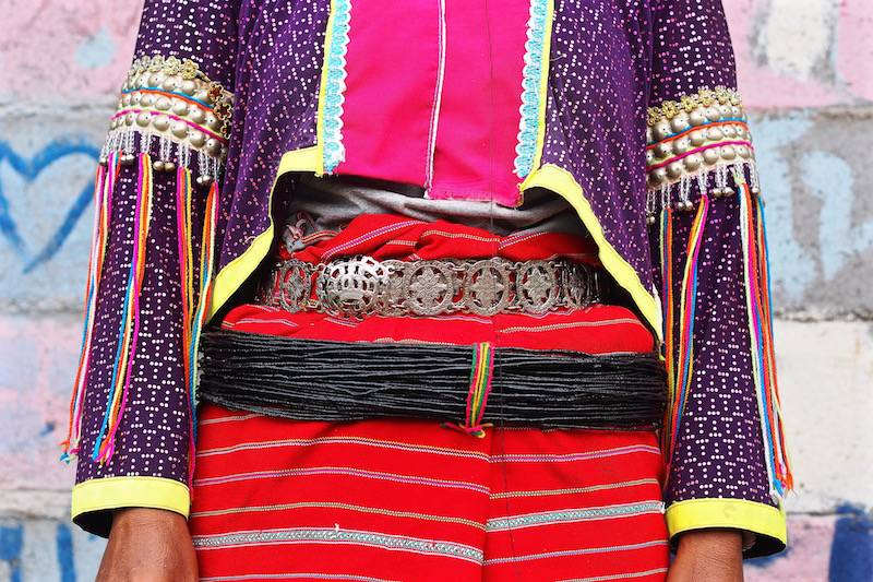Textiles of Palong people