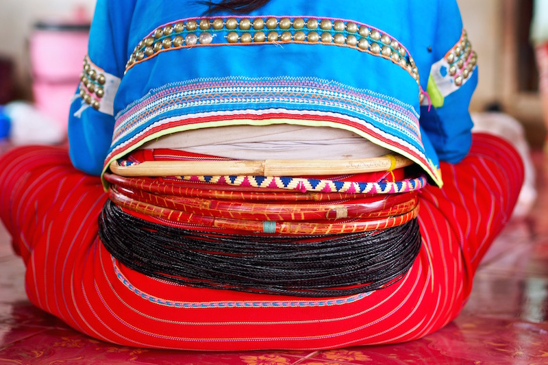 Traditional dress of Palong people