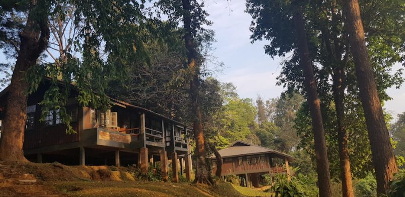 Two bungalows of Doi Suthep-Pui National Park