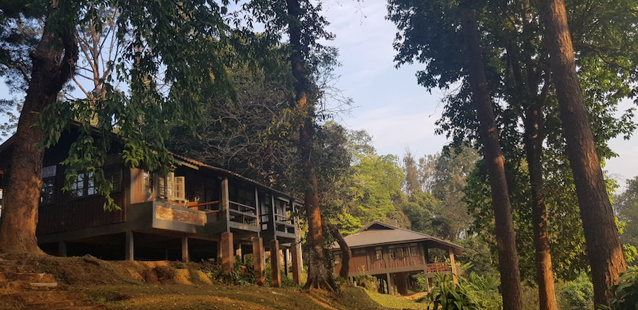 Two bungalows of Doi Suthep-Pui National Park