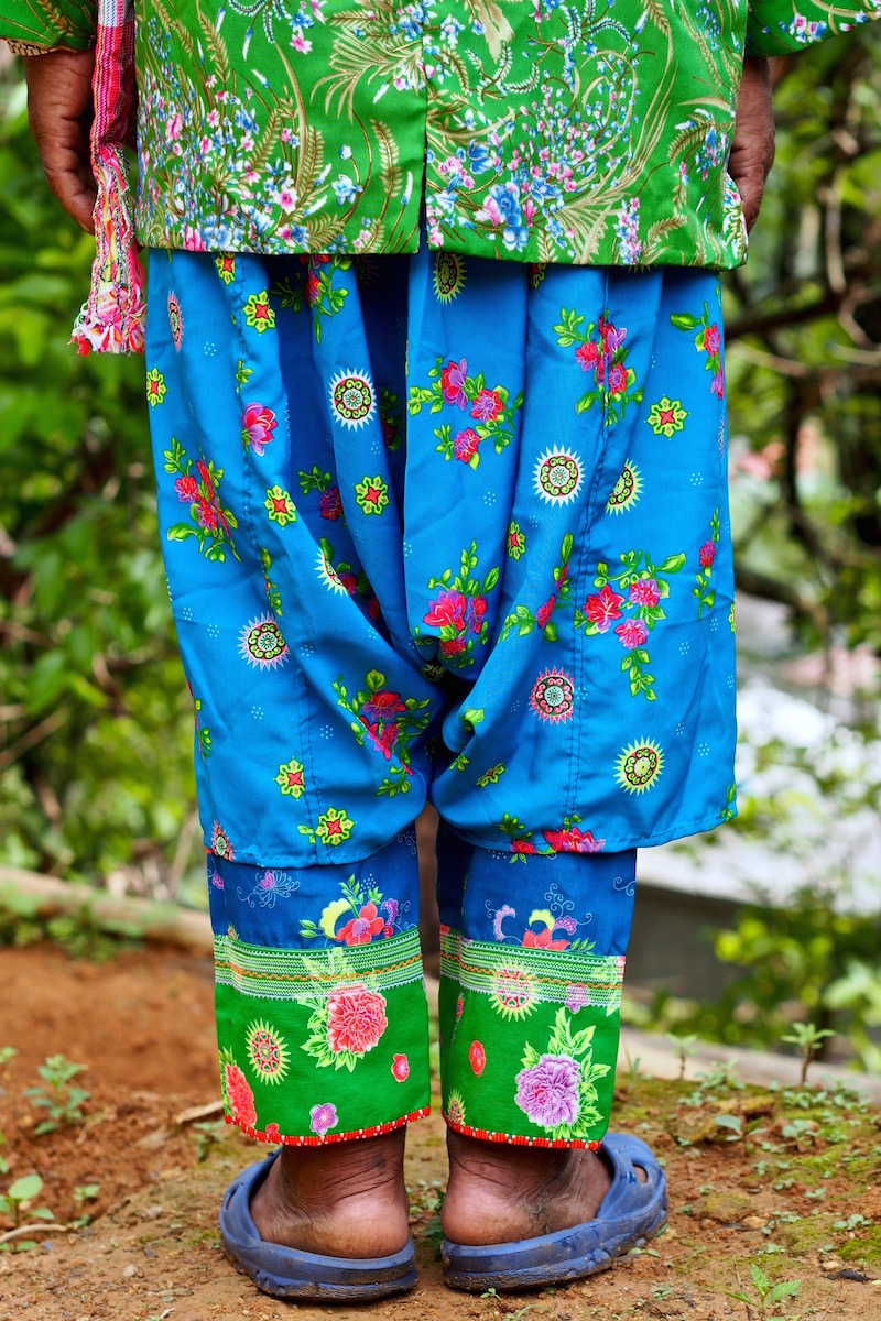 Lahu man pants