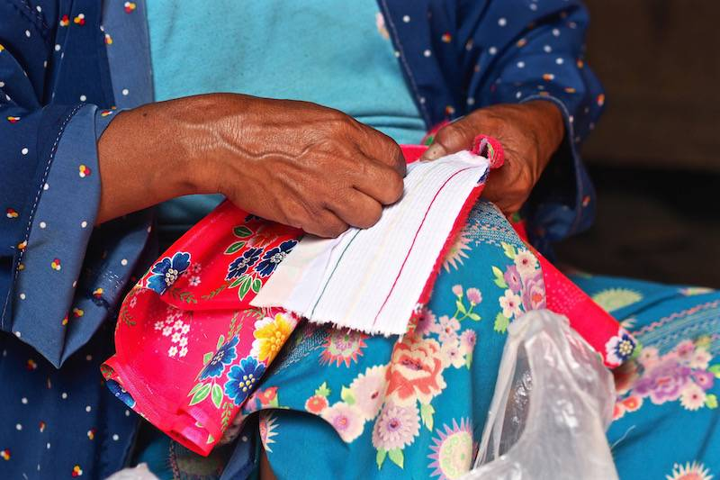 Textiles of Lahu people
