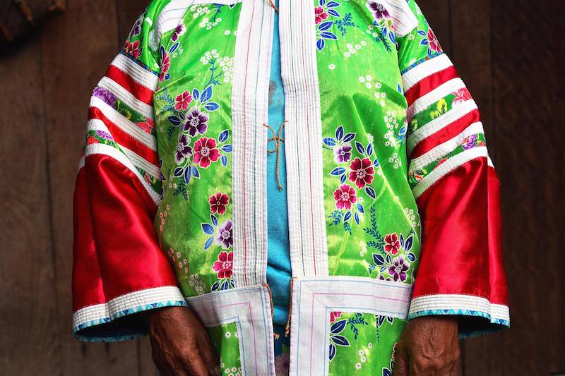 Overcoat of Lahu People