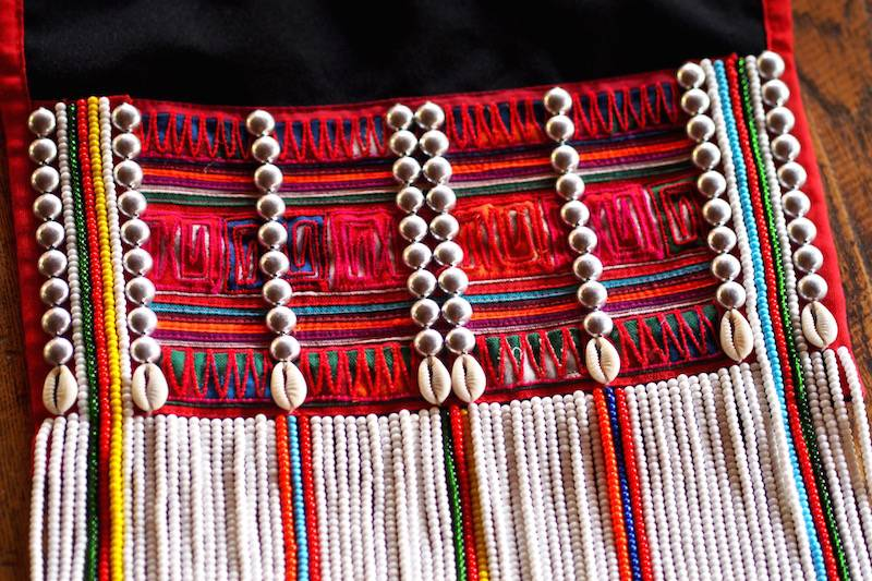 Applique of the Akha people