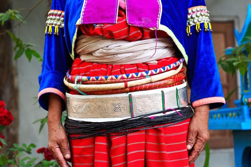 Belt of Palong people
