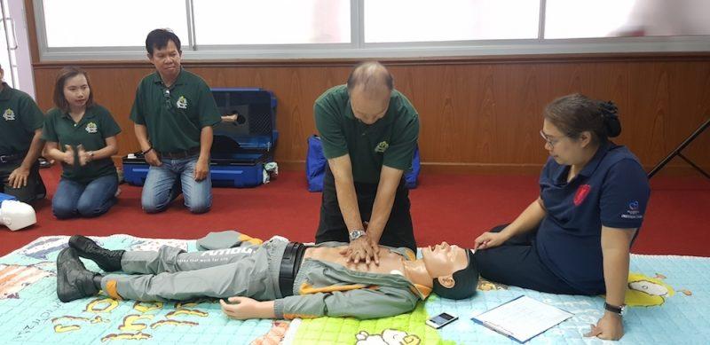 reanimation practice Pornchai