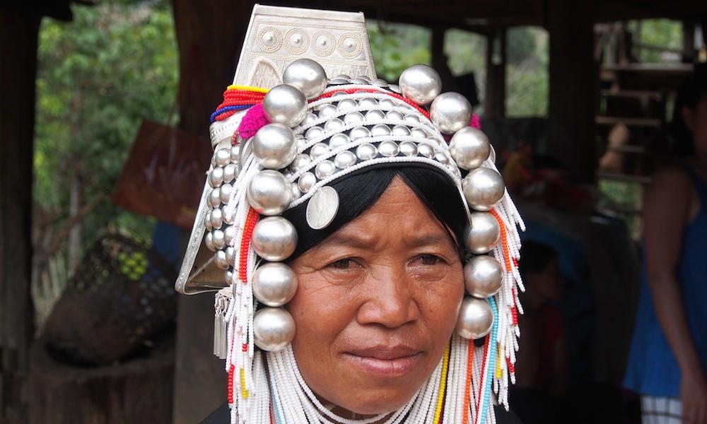 Chiang Dao Akha Lomi woman