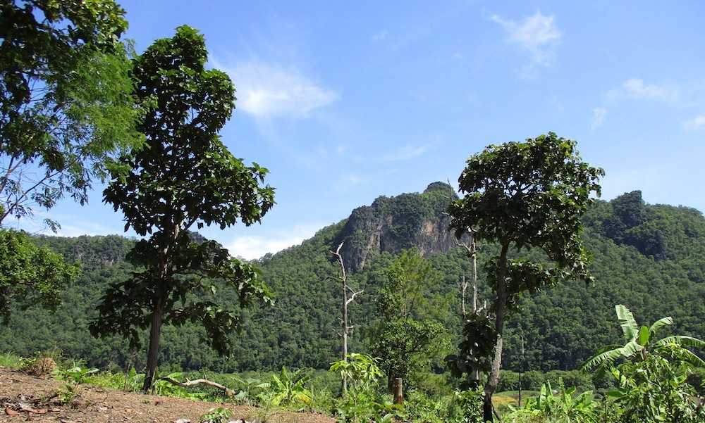 mountains of Chiang Dao