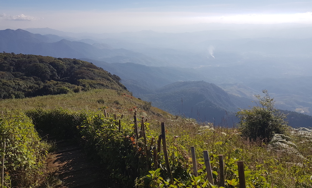 Panorama on Doi Inthanon