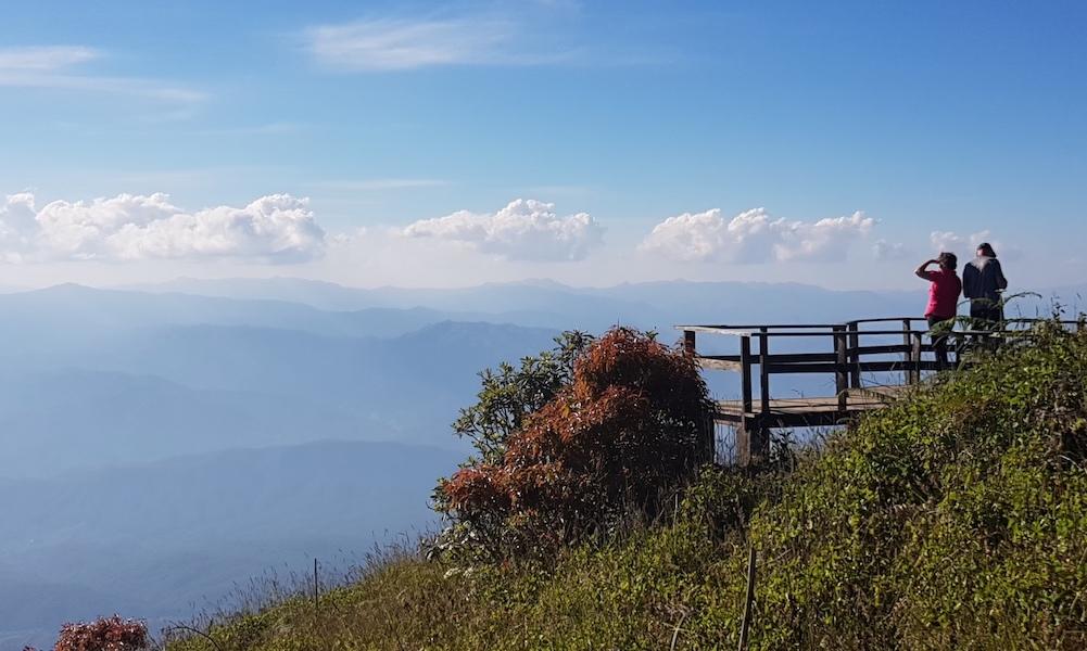 viewpoint on Doi Inthanon