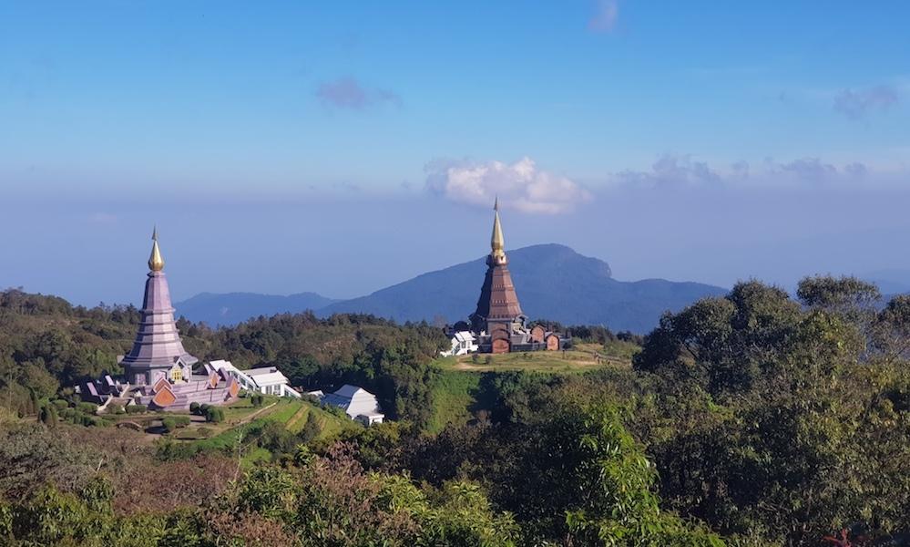 View on Royal Chedis Doi Inthanon