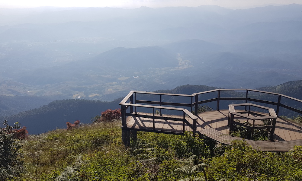 Viewdeck of Doi Inthanon