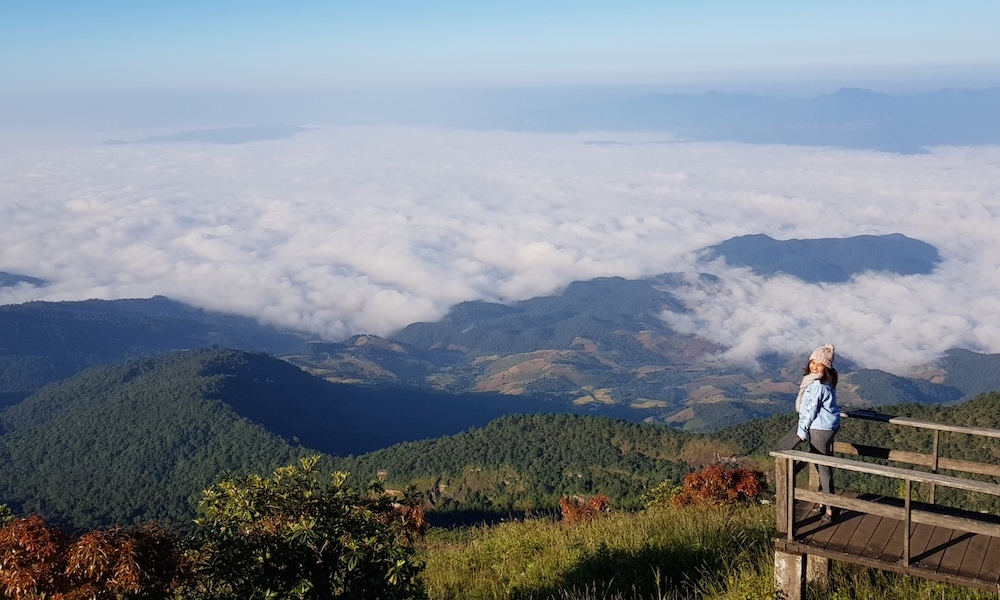 View from Deck on Doi Inthanon