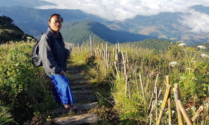 local Hmong guide Doi Inthanon waterfalls