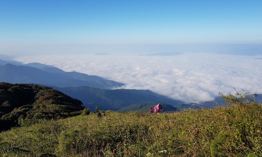 Kew Mae Pan Trail Doi Inthanon Trekking