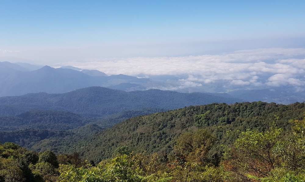National Park vista Doi Inthanon