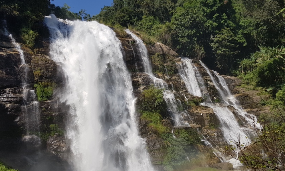 Vachirathan Waterfall Doi Inthanon National Park