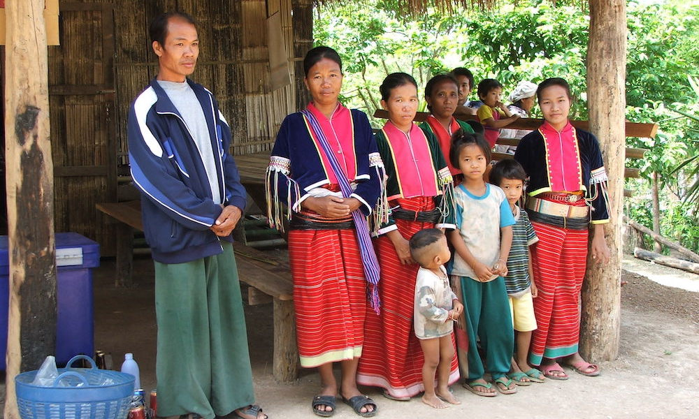 Palong family Palong Hilltribe trekking