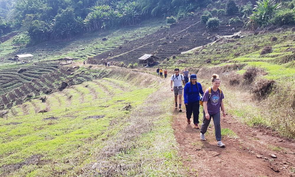 Hmong Village Ban Mae Sa Mai trekking