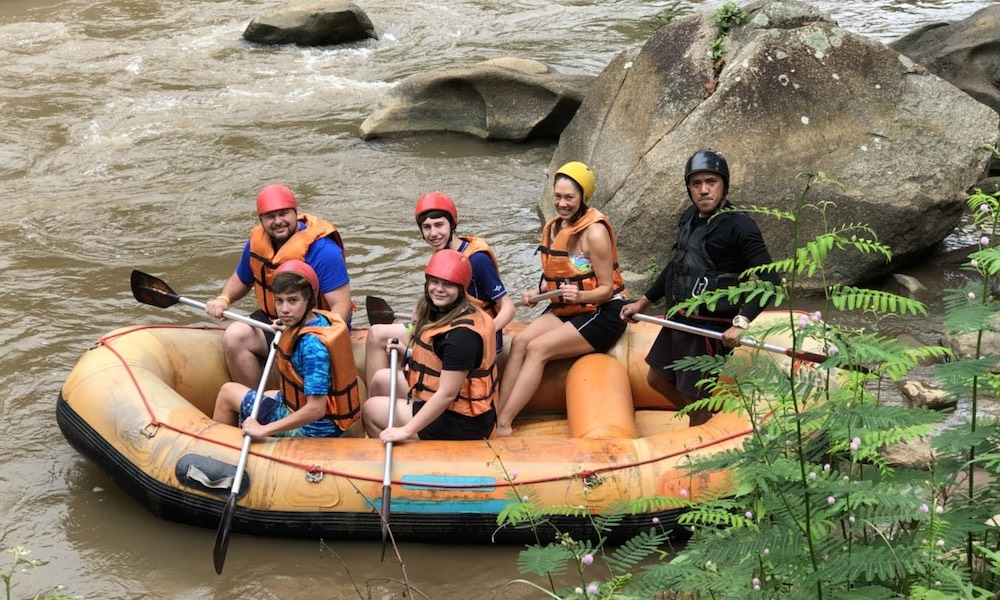Chiang Mai Whitewater Rafting and Zipline Tour - Green Trails