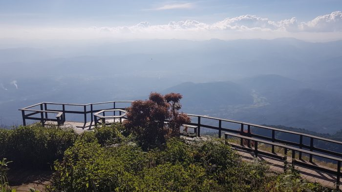 viewpoint Doi Inthanon Kew Mae Pan Nature Trail