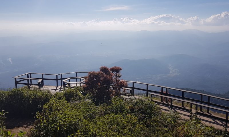 viewpoint Doi Inthanon Kew Mae Pan Nature Trail