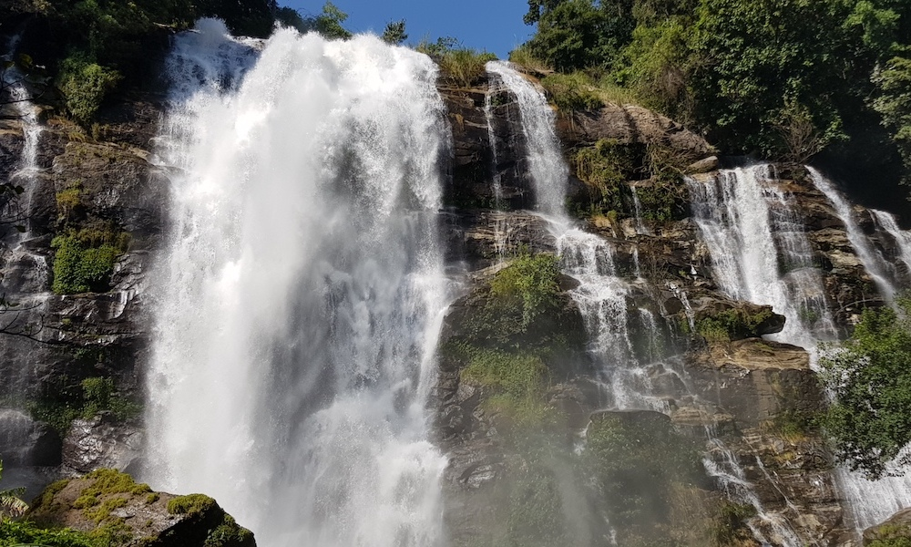 Doi Inthanon Wachirathan Waterfall