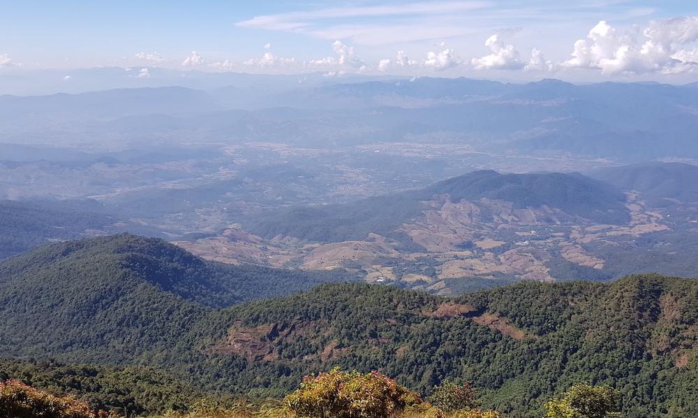 Doi Inthanon National Park vista