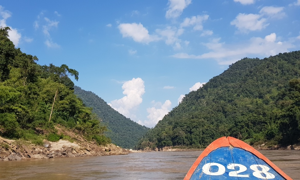 boat trip on the Salawin River