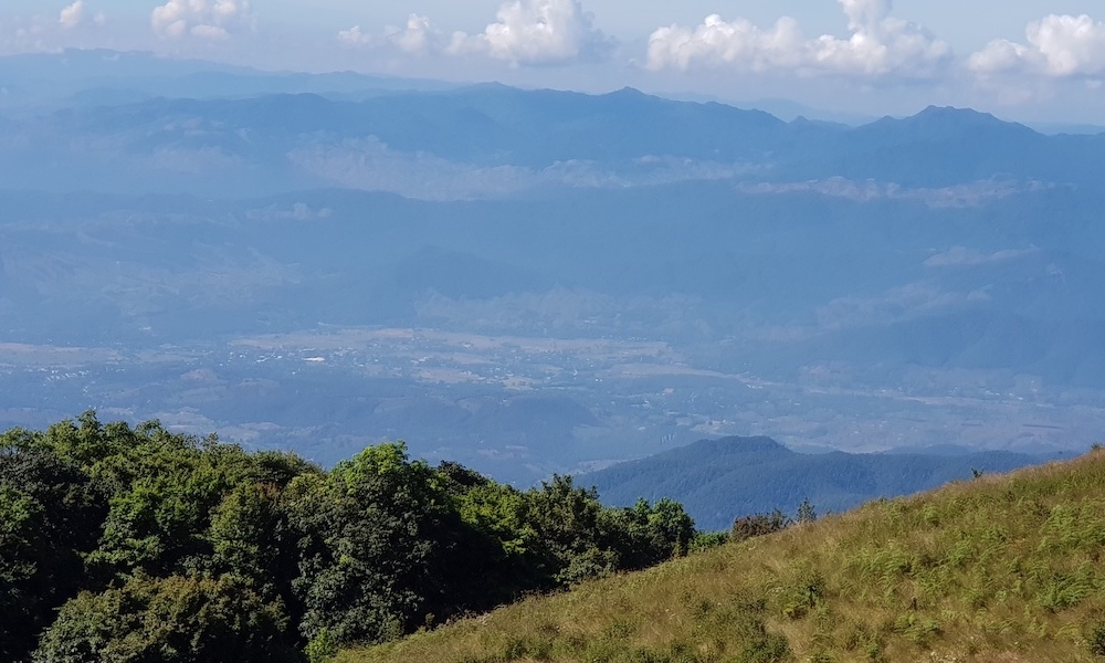 view on Mae Chaem from Doi Inthanon