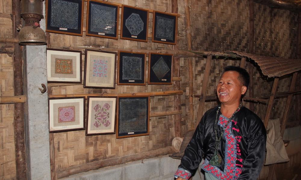 Hmong headman Win Ban Mae Sa Mai