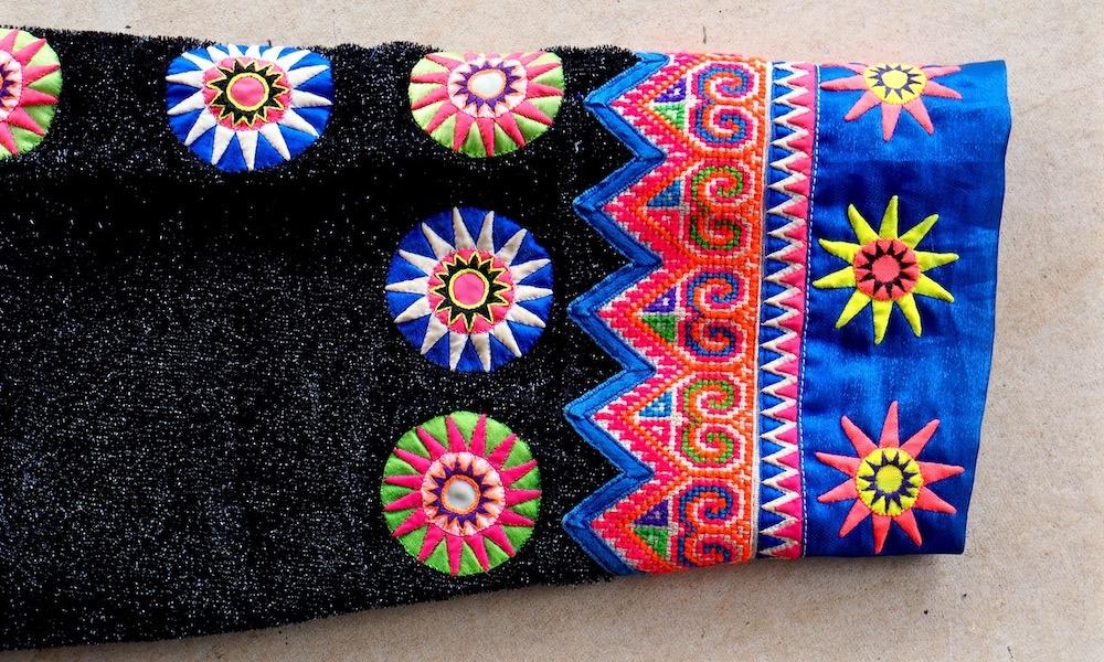 Hmong textiles sleeve Ban Mae Sa Mai